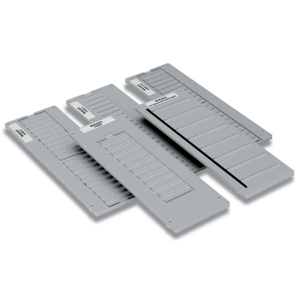 Carrier plate for marker cards WAGO 1 stk
