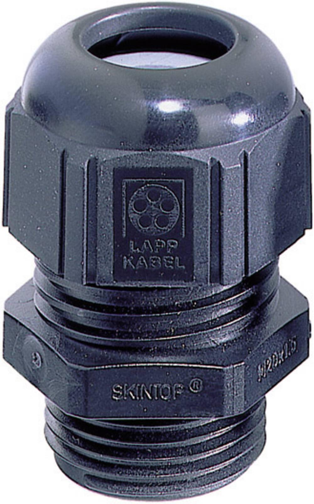 Kabelforskruning LappKabel SKINTOP® STR-M16 M16 Polyamid Sort (RAL 9005) 1 stk