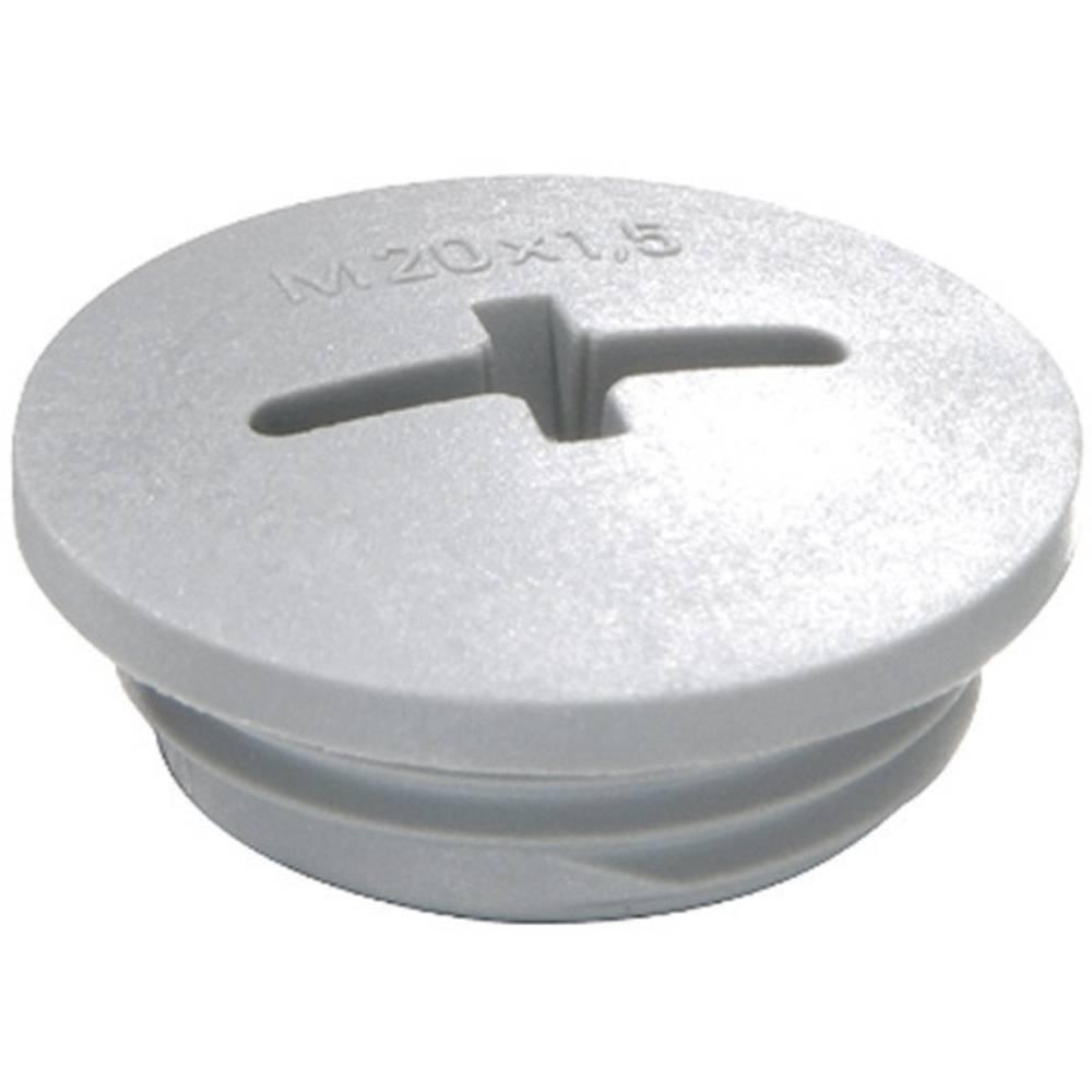 Vijak za zaključavanje M20, poliamid srebrno sive boje (RAL 7001) Wiska EVSG M20 RAL 7001 1 kom