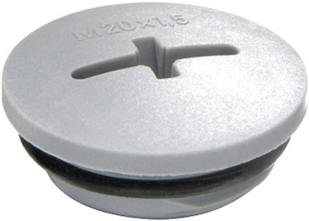 Blindprop Wiska 10064650 Polyamid Sølvgrå (RAL 7001) 1 stk