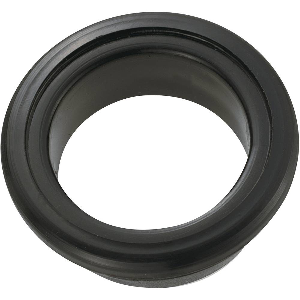 Kabelski tulec, odprt premer sponke (maks.) 15.5 mm PVC črne barve KSS GEQR-2015 1 kos