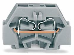 Enkelt klemme 5 mm Trækfjeder Belægning: L Grå WAGO 260-313 300 stk