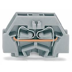 Enkelt klemme 5 mm Trækfjeder Belægning: L Grå WAGO 260-311 300 stk