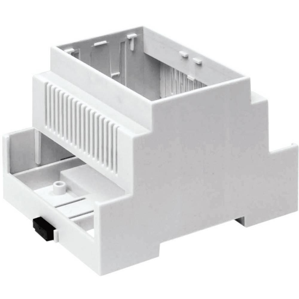 DIN-skinnekabinet Axxatronic CNMB-3V-KIT-CON 90 x 53 x 58 Polycarbonat 1 stk