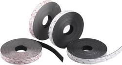 3M SJ 3550 Hook-and-loop tape stick-on Mushroom hooks (L x W) 1000 mm x 19  mm Black Sold per metre | Conrad.com