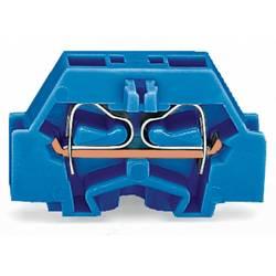 Enkelt klemme 6 mm Trækfjeder Belægning: N Blå WAGO 261-304 200 stk