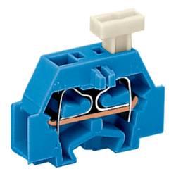 Enkelt klemme 6 mm Trækfjeder Belægning: N Blå WAGO 261-304/331-000 200 stk