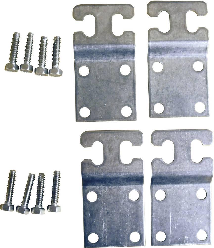 Fibox-Spona za zidno pričvrščenje MF CAB, metalna, 4 komada, za CAB P302017, CAB P403017 8280002