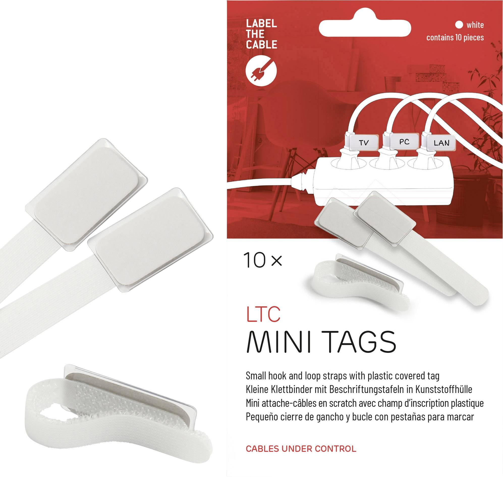 Cable bracket Label the Cable 2520 White | Conrad com