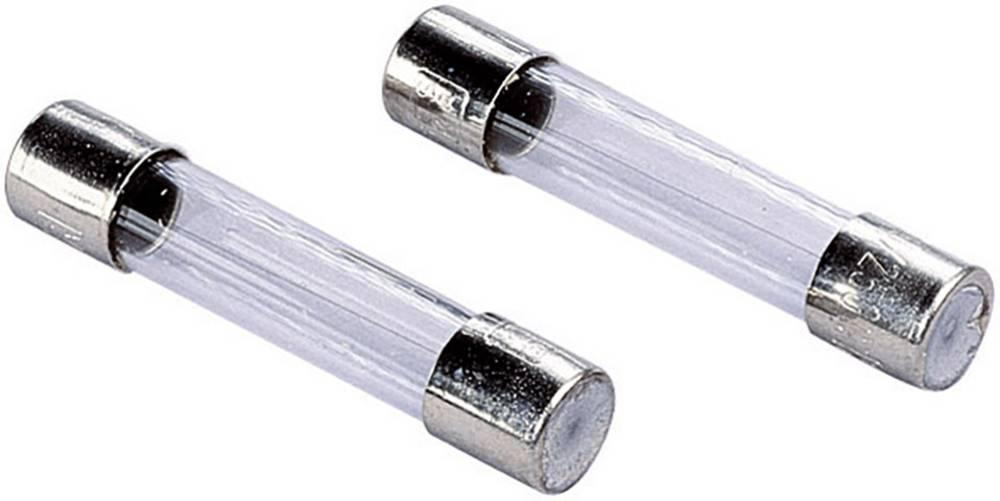 Finsikring (Ø x L) 6.3 mm x 32 mm 0.8 A 250 V Middeltræg -mT- ESKA 632216 Indhold 10 stk