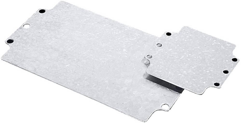 Rittal-Montažna ploča 9110.700, 207x107mm, pocinčani čelik, za GA-kućište 9110.21
