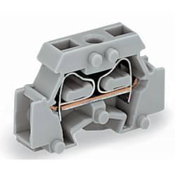Enkelt klemme 6 mm Trækfjeder Belægning: L Grå WAGO 261-411 200 stk