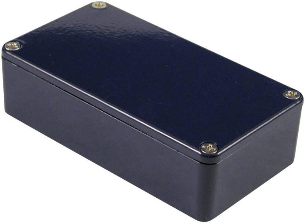 Universalkabinet 111.5 x 59.5 x 31 Aluminium Blå Hammond Electronics 1590BCB 1 stk