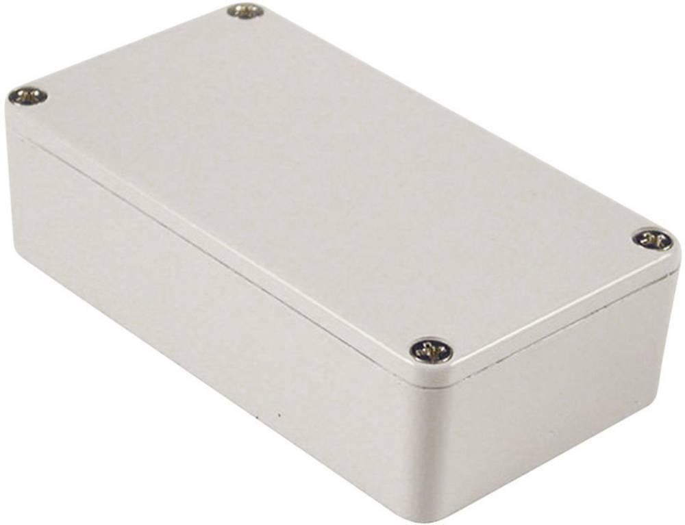 Universalkabinet 118.5 x 93.5 x 34 Aluminium Lysegrå (RAL 7035) Hammond Electronics 1590BBLG 1 stk