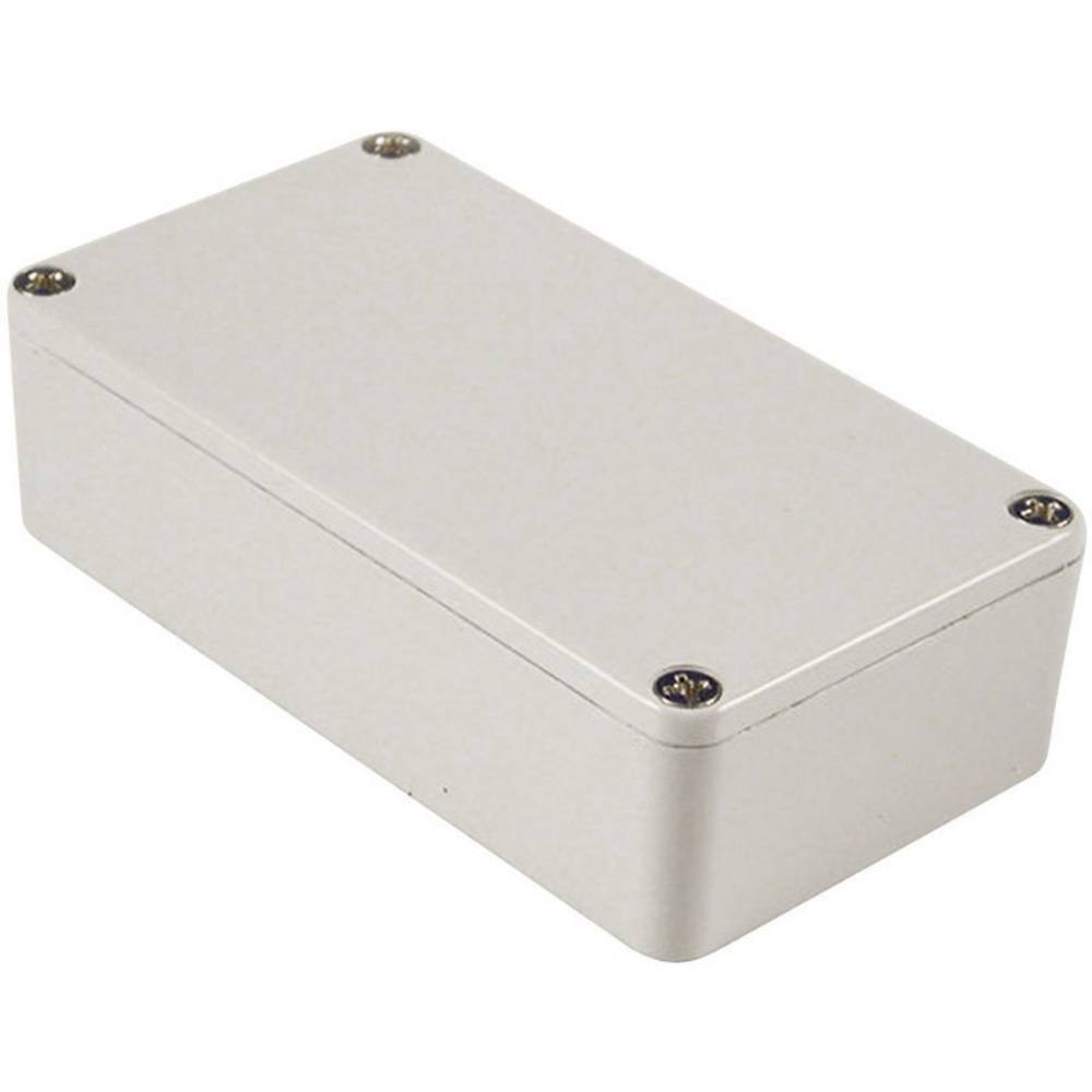Universalkabinet 111.5 x 59.5 x 31 Aluminium Lysegrå (RAL 7035) Hammond Electronics 1590BLG 1 stk