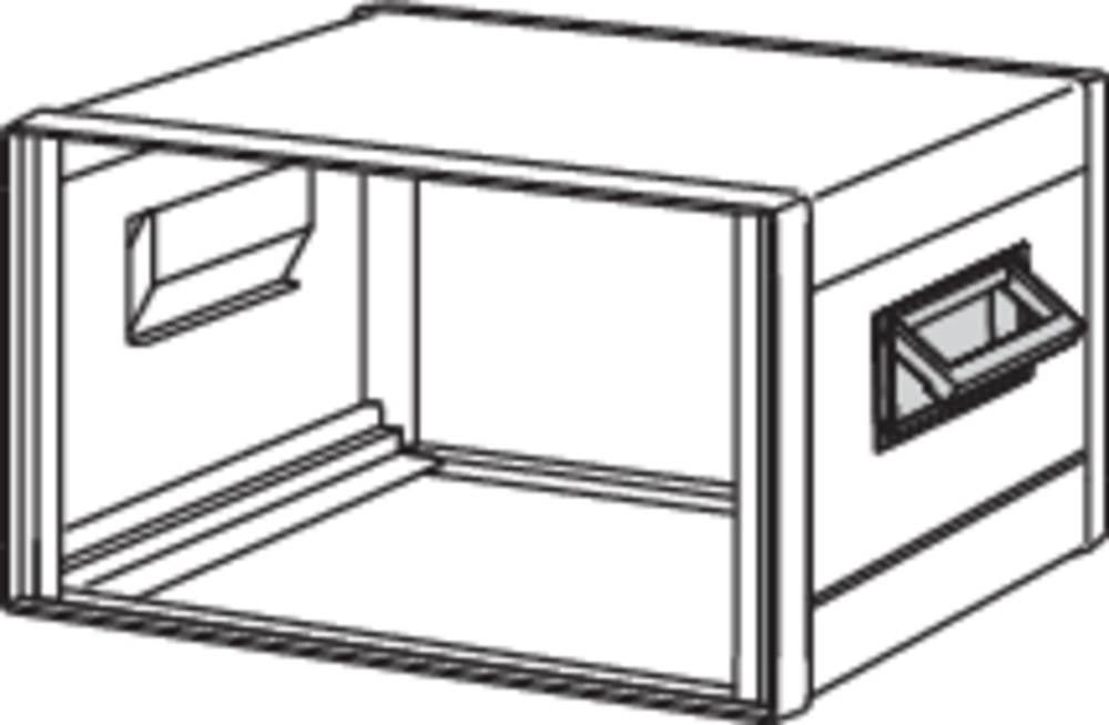 Schroff Folding handle for comtec 20225-439 Hinged handle Aluminium die cast, RAL 7016