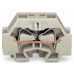 Enkelt klemme 7 mm Trækfjeder Belægning: L Grå WAGO 262-130 100 stk