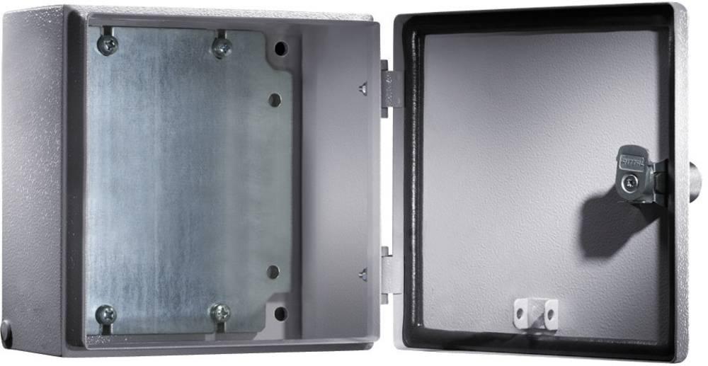 Installationskabinet Rittal E-Box 1556500 300 x 400 x 120 Stålplade 1 stk