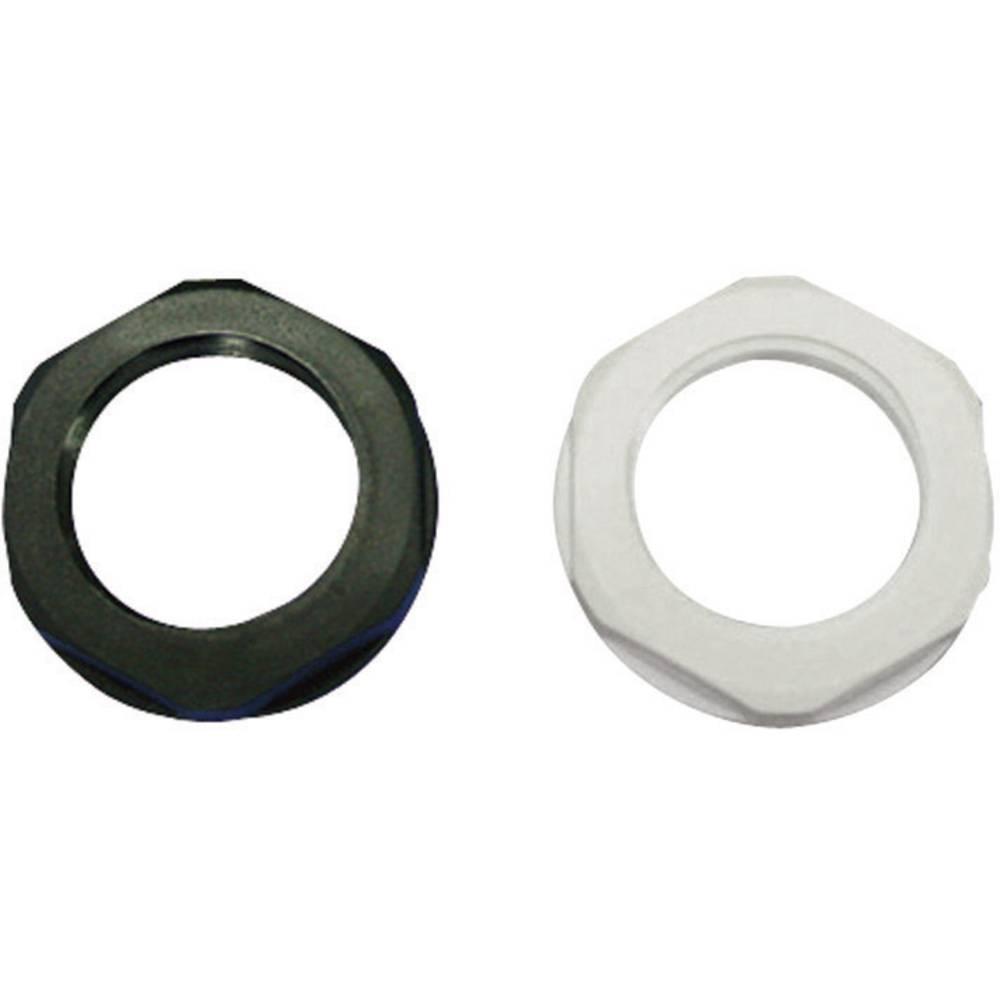 Låsemøtrik KSS EGRL21GY3 PG20 Polyamid Sølvgrå (RAL 7001) 1 stk