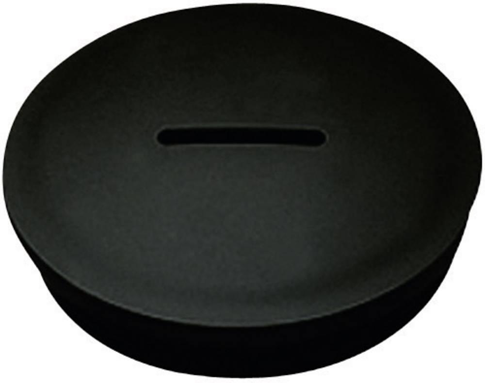 Zaklepni vijak M25, poliamid črne barve KSS MSPR25 1 kos