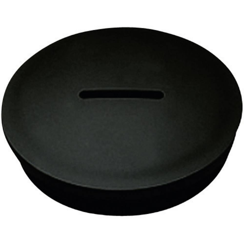 Zaklepni vijak M50, poliamid črne barve KSS MSPR50 1 kos