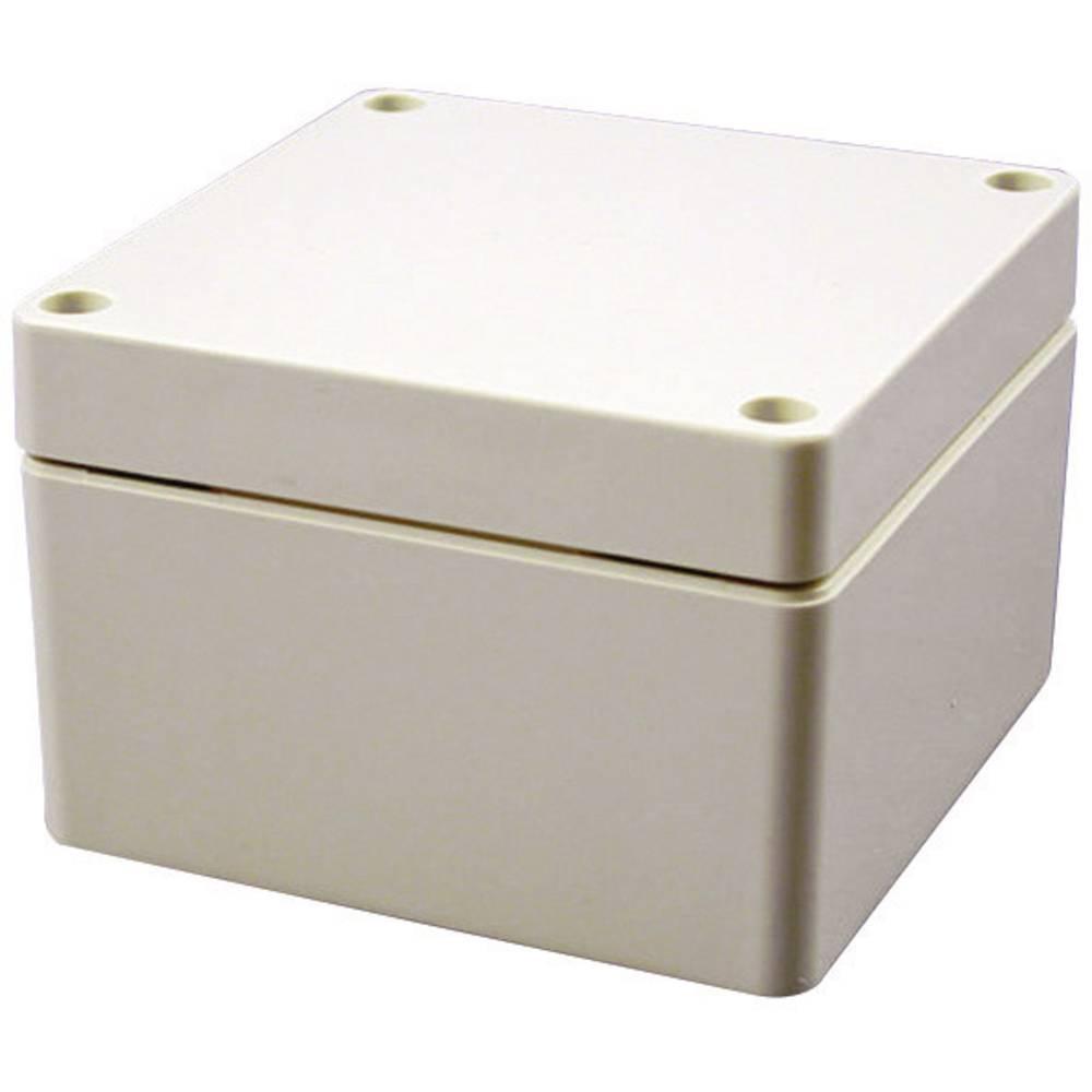 Universalkabinet 120 x 90 x 60 ABS Lysegrå (RAL 7035) Hammond Electronics 1554FGY 1 stk