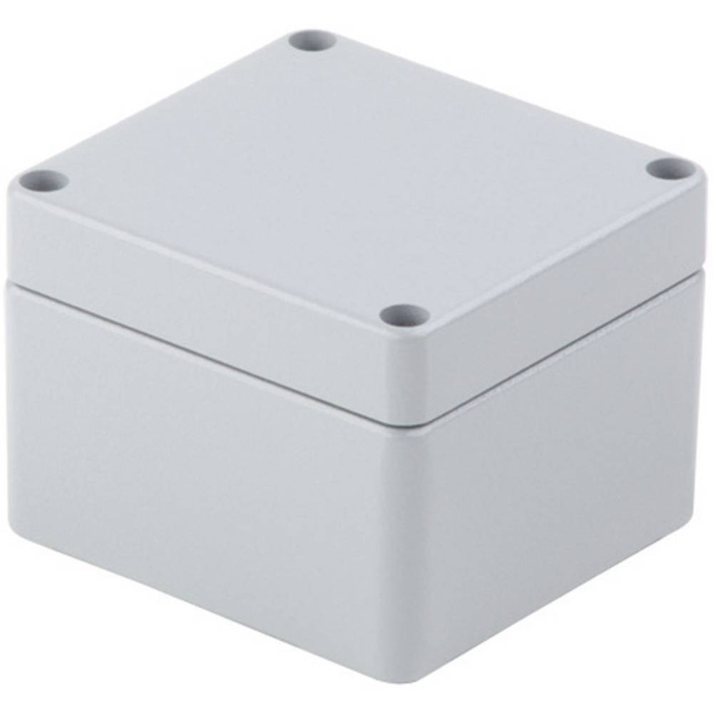 Universalkabinet 64 x 34 x 58 Aluminium Grå (RAL 7001) Weidmüller KLIPPON K01 RAL7001 1 stk