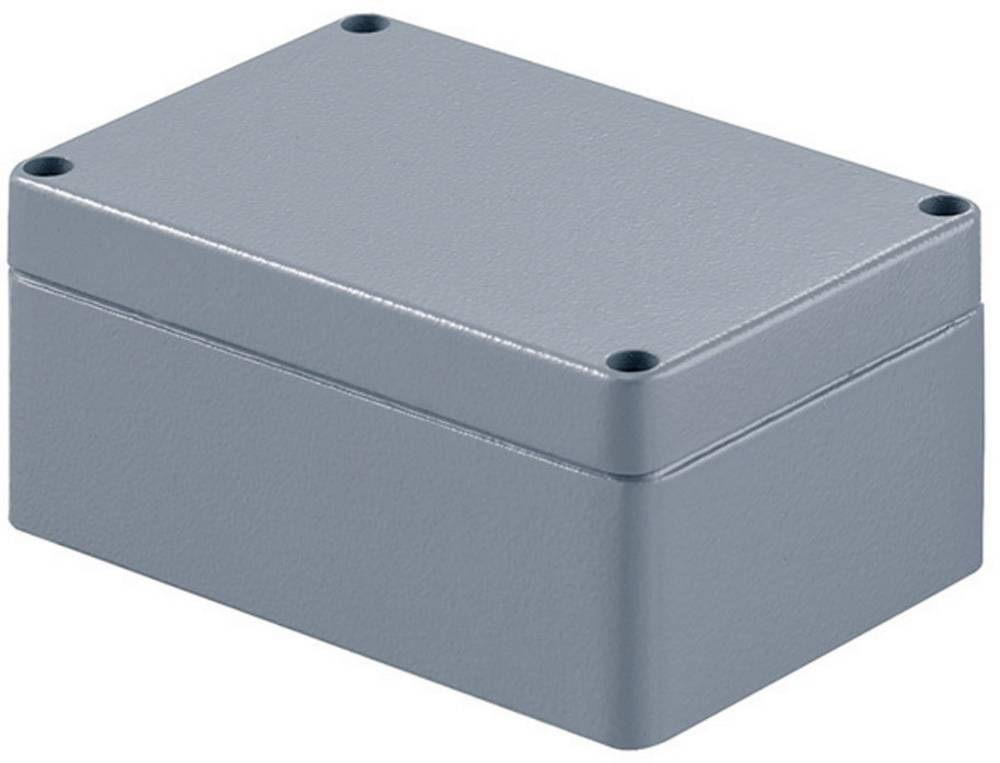 Universalkabinet 125 x 57 x 80 Aluminium Grå (RAL 7001) Weidmüller KLIPPON K21 RAL7001 1 stk