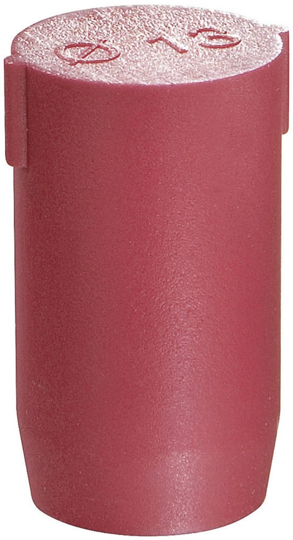 Pokrovček, poliamid rdeče barve Wiska BS 2 1 kos