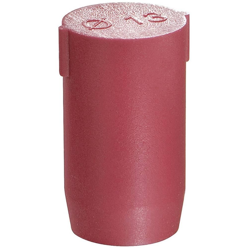 Pokrovček, poliamid rdeče barve Wiska BS 48 1 kos