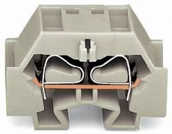 Enkelt klemme 12 mm Trækfjeder Belægning: L Grå WAGO 262-230 100 stk