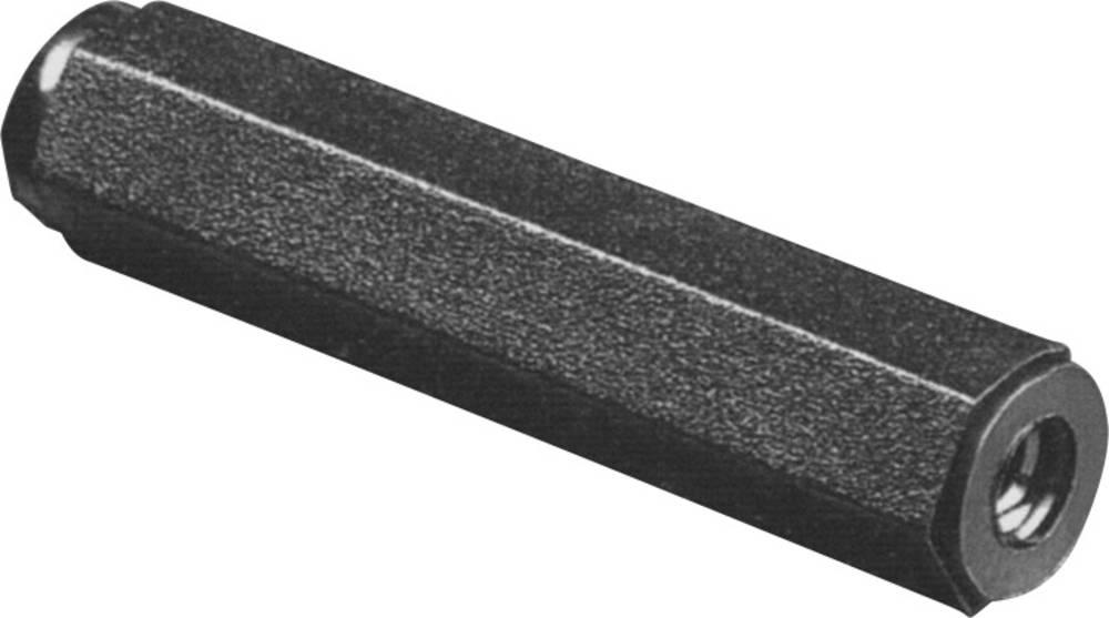 Afstandsbolte 2 x indvendige gevind M3 Polyamid Afstandsmål 15 mm 1 stk