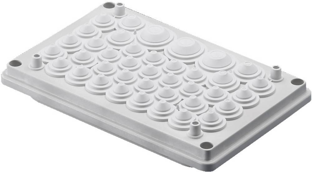 Kabelska uvodna plošča, izolirni materijal sive barve (RAL 7032) Rittal SV 9665770 1 kos