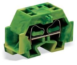 Enkelt klemme 12 mm Trækfjeder Belægning: Terre Grøn-gul WAGO 262-337 100 stk