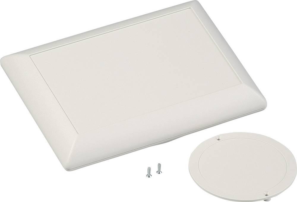 OKW D5017247-Konzolno kućište, ABS sivo/bijelo (RAL 9002), 160x110x40mm, komplet