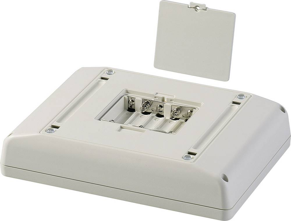 OKW D4044137-Konzolno kućište, umjetna masa, sivo/bijelo (RAL 9002), 166x225x48mm, komplet
