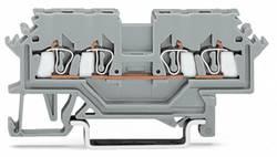 Gennemgangsklemme 4 mm Trækfjeder Belægning: N Blå WAGO 279-604 100 stk