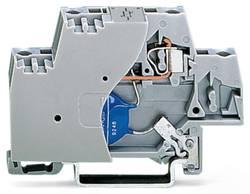 Enkelt klemme 10 mm Trækfjeder Belægning: L Grå WAGO 280-502/281-582 50 stk
