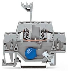 Enkelt klemme 5 mm Trækfjeder Belægning: L Grå WAGO 280-502/281-609 50 stk