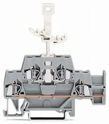 Dobbeltlags-gennemgangsklemme 5 mm Trækfjeder Belægning: L Grå WAGO 280-522 50 stk