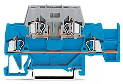 Dobbeltlags-gennemgangsklemme 5 mm Trækfjeder Blå , Grå WAGO 280-532 50 stk