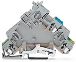 Aktorklemme 5 mm Trækfjeder Belægning: L Grå WAGO 280-593 10 stk