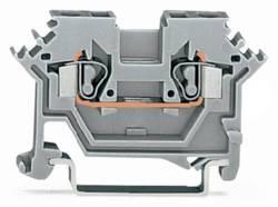 Gennemgangsklemme 5 mm Trækfjeder Belægning: L Grå WAGO 280-691 100 stk