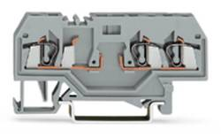 Basisklemme 5 mm Trækfjeder Belægning: L Grå WAGO 280-610 100 stk