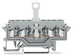 Skilleklemme 5 mm Trækfjeder Belægning: L Grå WAGO 280-622 50 stk