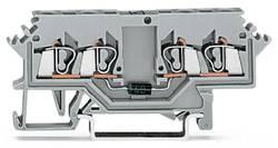 Diodeklemme 5 mm Trækfjeder Belægning: L Grå WAGO 280-623/281-410 100 stk