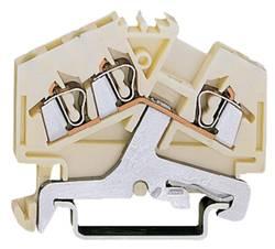 Skærmklemme 5 mm Trækfjeder Hvid WAGO 280-640 100 stk