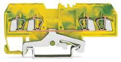 Jordklemme 5 mm Trækfjeder Belægning: Terre Grøn-gul WAGO 280-677 100 stk