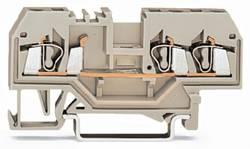 Gennemgangsklemme 5 mm Trækfjeder Belægning: L Grå WAGO 280-993 100 stk