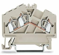 Gennemgangsklemme 5 mm Trækfjeder Belægning: L Grå WAGO 280-998 100 stk